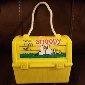 70s Snoopy Lunchbox